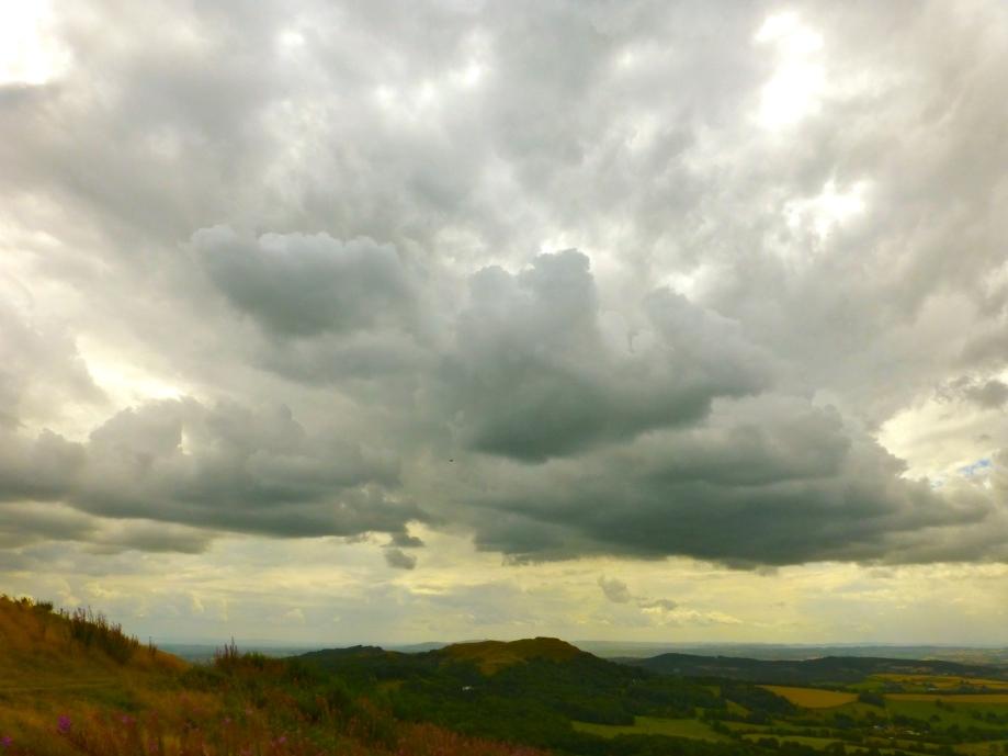 Turning sky - Gloucstershire weather!  Malvern 14.